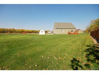 Photo 19: 12 Spillway Cove in STMALO: Manitoba Other Residential for sale : MLS®# 1423600