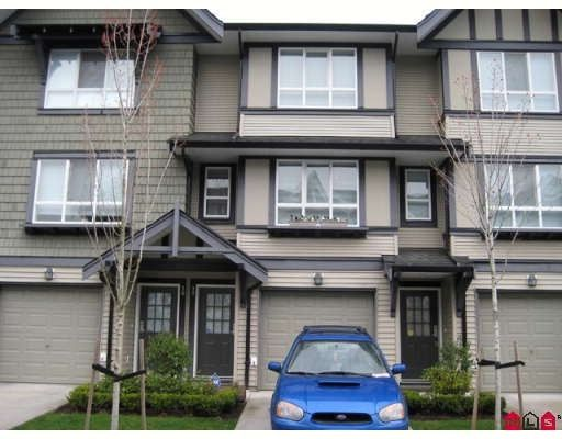 Main Photo: #77 6747 203RD ST in Langley: Townhouse for sale : MLS®# F2807461
