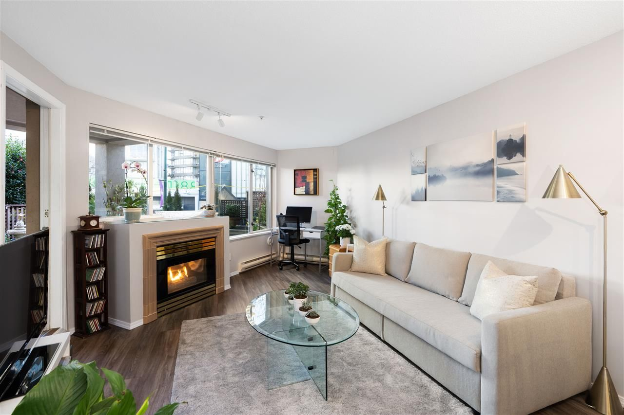 """Main Photo: 109 1208 BIDWELL Street in Vancouver: West End VW Condo for sale in """"Baybreeze"""" (Vancouver West)  : MLS®# R2541358"""
