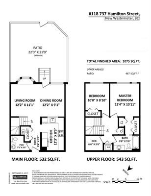 """Photo 20: 118 737 HAMILTON Street in New Westminster: Uptown NW Condo for sale in """"THE COURTYARDS"""" : MLS®# R2209742"""