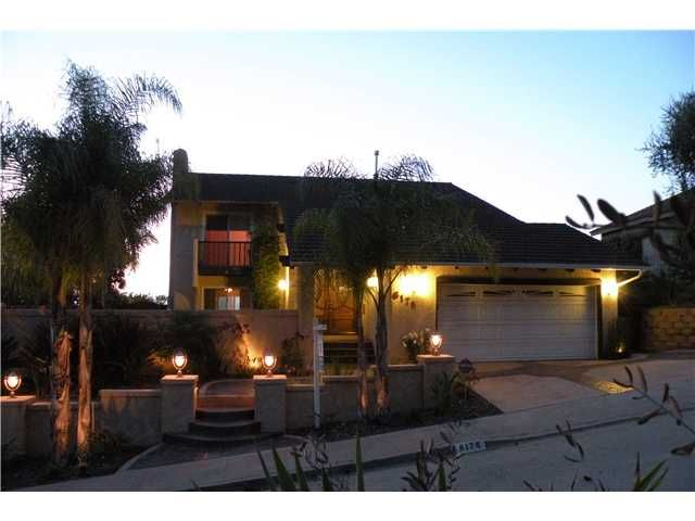 Main Photo: DEL CERRO House for sale : 4 bedrooms : 6176 Calle Empinada in San Diego