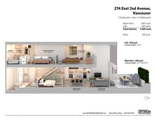 """Photo 39: 274 E 2ND Avenue in Vancouver: Mount Pleasant VE Townhouse for sale in """"JACOBSEN"""" (Vancouver East)  : MLS®# R2572730"""