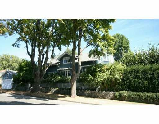 Main Photo: 2499 W 37TH Ave in Vancouver: Quilchena House for sale (Vancouver West)  : MLS®# V610846
