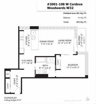 """Photo 31: 2001 108 W CORDOVA Street in Vancouver: Downtown VW Condo for sale in """"Woodwards W32"""" (Vancouver West)  : MLS®# R2465533"""
