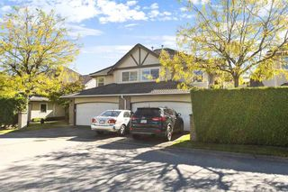 "Photo 1: 11 758 RIVERSIDE Drive in Port Coquitlam: Riverwood Townhouse for sale in ""Riverlane Estates"" : MLS®# R2503975"