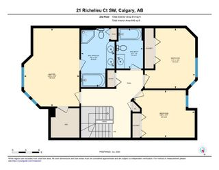 Photo 25: 21 RICHELIEU Court SW in Calgary: Lincoln Park Row/Townhouse for sale : MLS®# A1013241