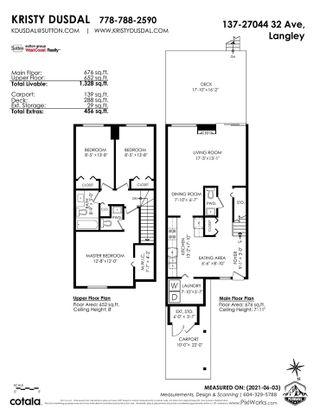 "Photo 32: 137 27044 32 Avenue in Langley: Aldergrove Langley Townhouse for sale in ""Bertrand Estates"" : MLS®# R2589039"