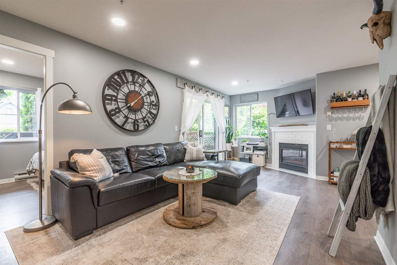 """Main Photo: 101 3128 FLINT Street in Port Coquitlam: Glenwood PQ Condo for sale in """"Fraser Court Terrace"""" : MLS®# R2560702"""