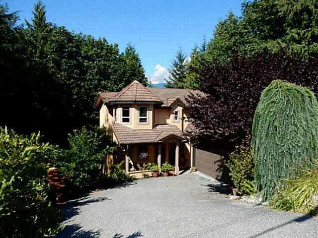 Main Photo: 5836 MARINE Way in Sechelt: Sechelt District House for sale (Sunshine Coast)  : MLS®# V1078879
