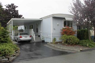 """Photo 1: 62 15875 20 Avenue in Surrey: King George Corridor Manufactured Home for sale in """"SEA RIDGE BAYS"""" (South Surrey White Rock)  : MLS®# R2208444"""