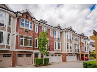 """Photo 1: 146 20738 84 Avenue in Langley: Willoughby Heights Townhouse for sale in """"Yorkson Creek"""" : MLS®# R2586227"""
