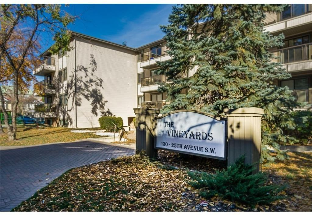 Main Photo: 403 130 25 Avenue SW in Calgary: Mission Apartment for sale : MLS®# A1104864