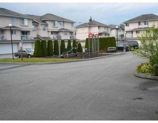 Photo 1: 16 2458 PITT RIVER Road in Port_Coquitlam: Mary Hill Townhouse for sale (Port Coquitlam)  : MLS®# V776221