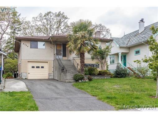 Main Photo: 2734 Roseberry Ave in VICTORIA: Vi Oaklands House for sale (Victoria)  : MLS®# 757376