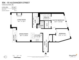 "Photo 28: 306 55 ALEXANDER Street in Vancouver: Downtown VE Condo for sale in ""55 ALEXANDER"" (Vancouver East)  : MLS®# R2534149"