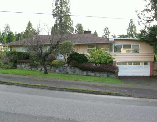 Main Photo: 3392 DELBROOK Ave in North Vancouver: Delbrook House for sale : MLS®# V623935