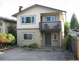 Photo 1: 1567 FERN Street in North_Vancouver: Lynnmour House for sale (North Vancouver)  : MLS®# V785534