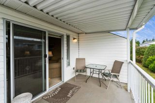 """Photo 32: 166 32691 GARIBALDI Drive in Abbotsford: Abbotsford West Townhouse for sale in """"Carriage Lane"""" : MLS®# R2590175"""