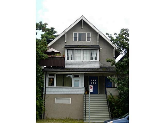 Photo 1: Photos: 2204 MACDONALD Street in Vancouver: Kitsilano House for sale (Vancouver West)  : MLS®# V1134340