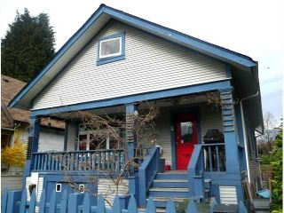 "Photo 1: 1843 E 16TH Avenue in Vancouver: Grandview VE House for sale in ""TROUT LAKE"" (Vancouver East)  : MLS®# V815309"