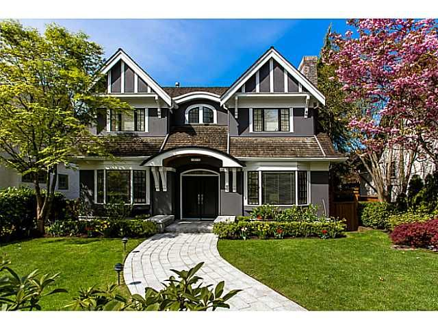 Main Photo: 6369 ANGUS DR in Vancouver: South Granville House for sale (Vancouver West)  : MLS®# V1012529