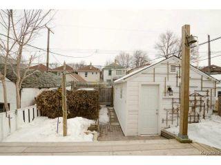 Photo 18: 531 Lipton Street in WINNIPEG: West End / Wolseley Residential for sale (West Winnipeg)  : MLS®# 1505517