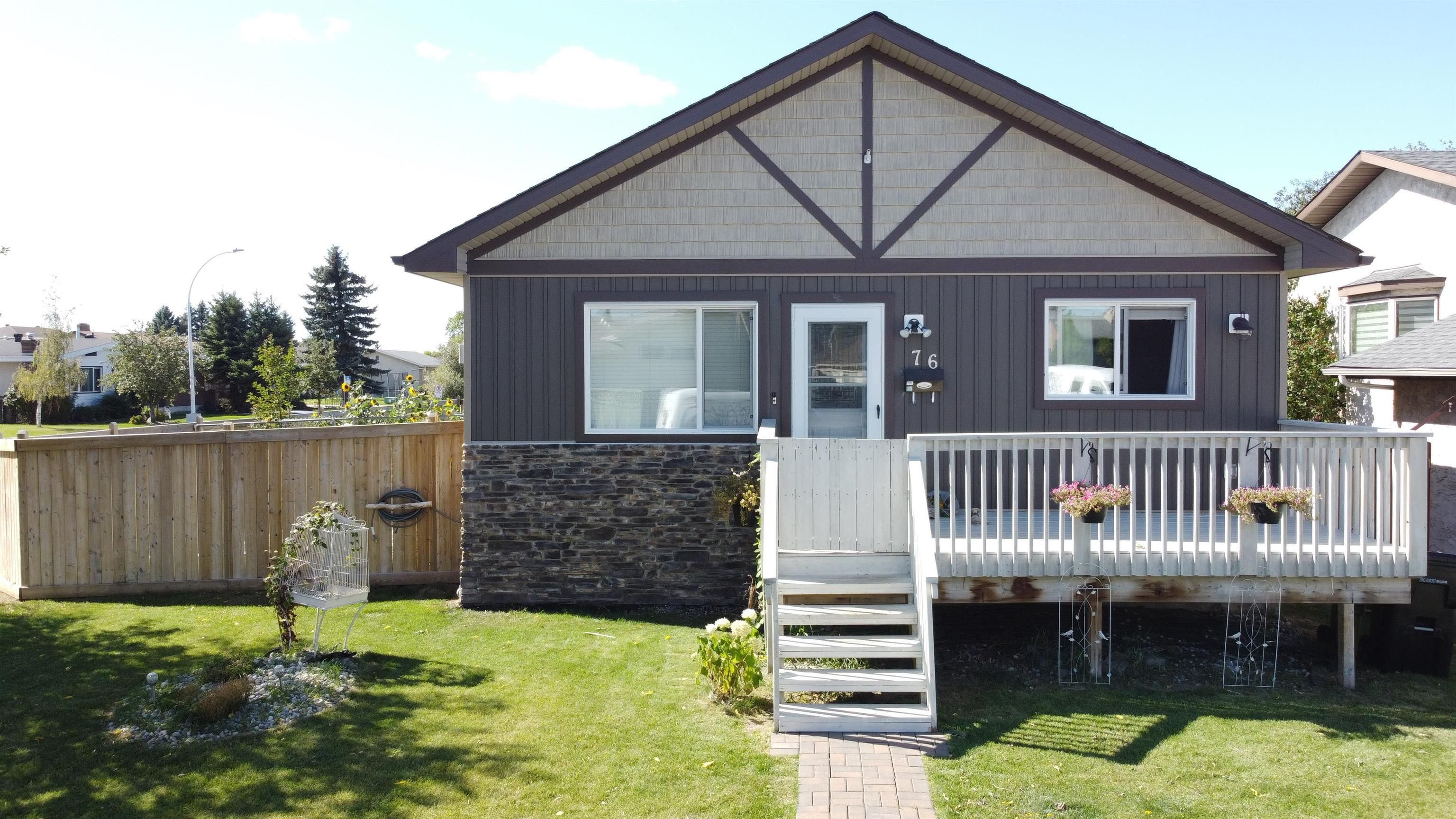 Main Photo: 76 DUNLUCE Road in Edmonton: Zone 27 House for sale : MLS®# E4261665