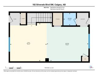Photo 27: 182 Silverado Boulevard SW in Calgary: Silverado Row/Townhouse for sale : MLS®# A1102908