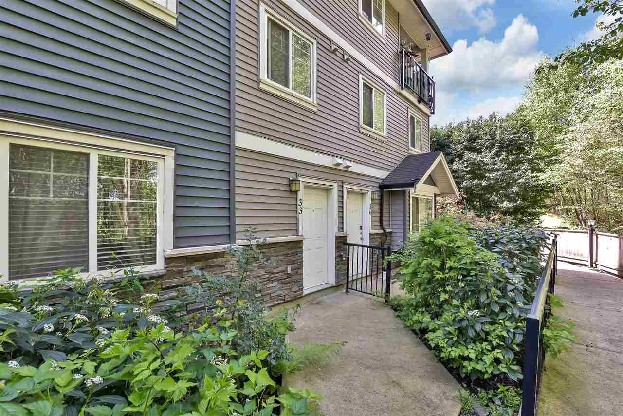 Main Photo: 33 11255 132ND Street in Surrey: Bridgeview Townhouse for sale (North Surrey)  : MLS®# R2574498