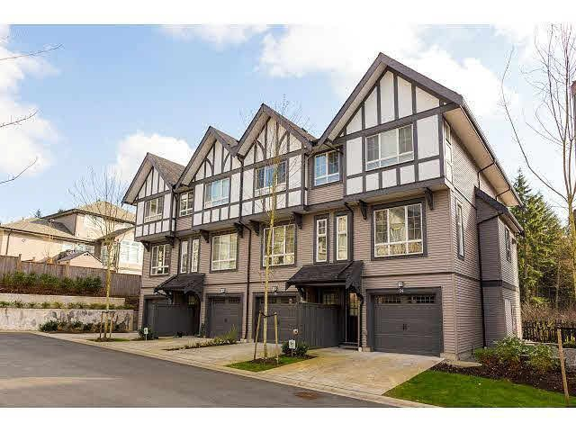 """Main Photo: 23 1338 HAMES Crescent in Coquitlam: Burke Mountain Townhouse for sale in """"FARRINGTON"""" : MLS®# V1107245"""