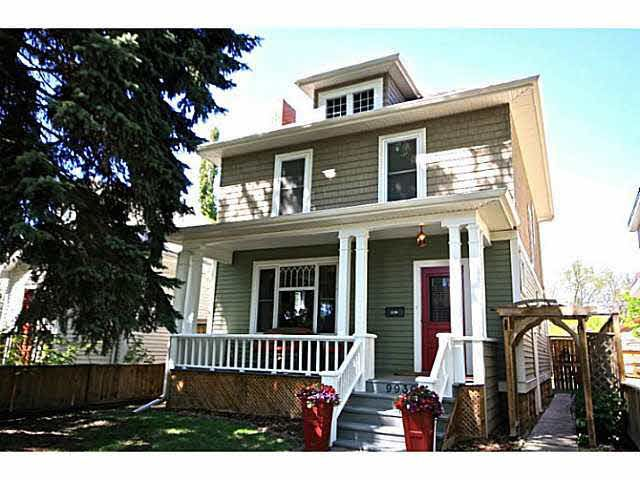 Main Photo: 9930 84 Avenue NW in Edmonton: Strathcona House for sale : MLS®# E416667