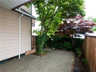 """Photo 10: 642 ST GEORGES Avenue in North Vancouver: Lower Lonsdale Townhouse for sale in """"ST GEORGES COURT"""" : MLS®# V899118"""