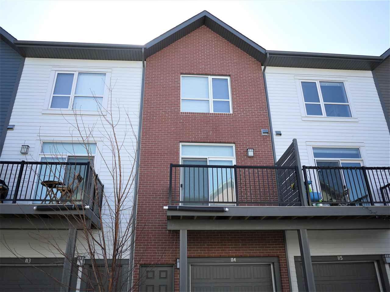 Main Photo: 114 2560 Pegasus in Edmonton: Zone 27 Townhouse for sale : MLS®# E4236412