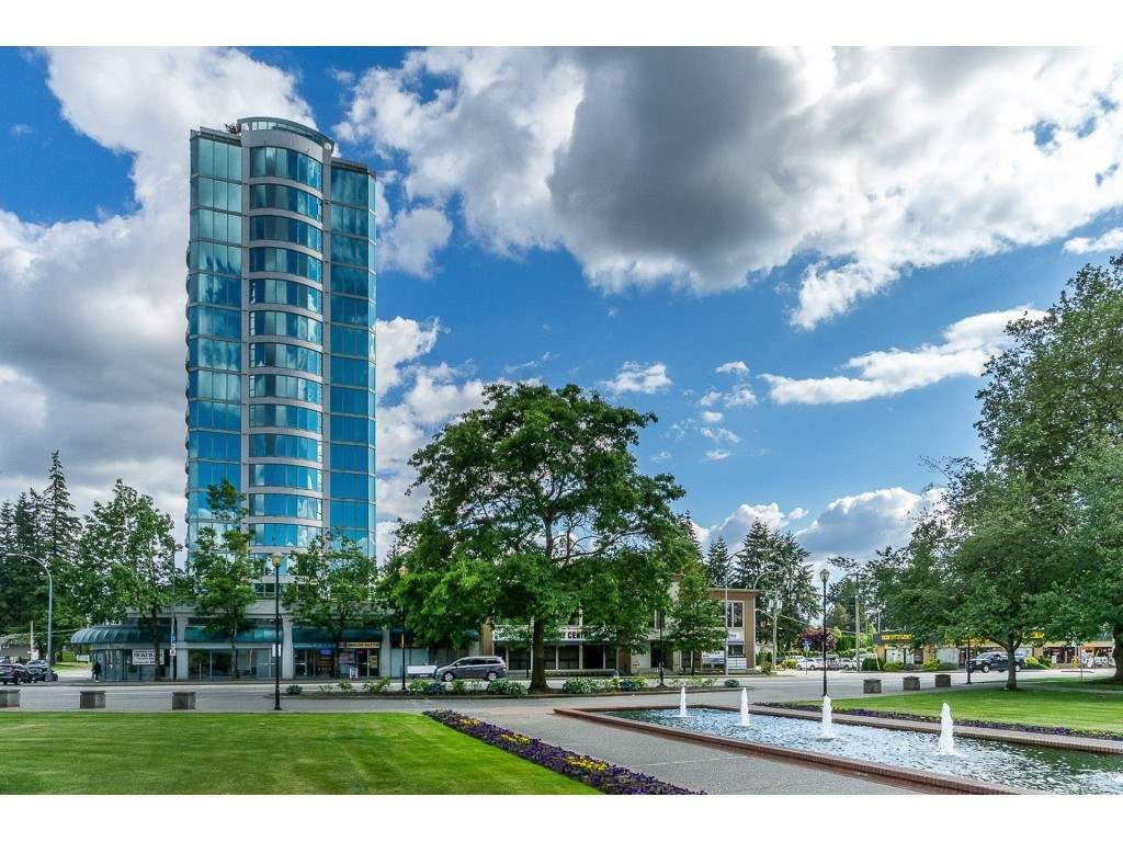 """Main Photo: 1402 32330 SOUTH FRASER Way in Abbotsford: Abbotsford West Condo for sale in """"TOWN CENTER TOWER"""" : MLS®# R2521811"""