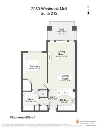 """Photo 17: 212 2280 WESBROOK Mall in Vancouver: University VW Condo for sale in """"KEATS HALL"""" (Vancouver West)  : MLS®# R2275329"""