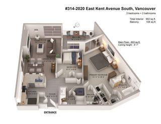 """Photo 27: 314 2020 E KENT AVENUE SOUTH in Vancouver: South Marine Condo for sale in """"Tugboat Landing"""" (Vancouver East)  : MLS®# R2538766"""