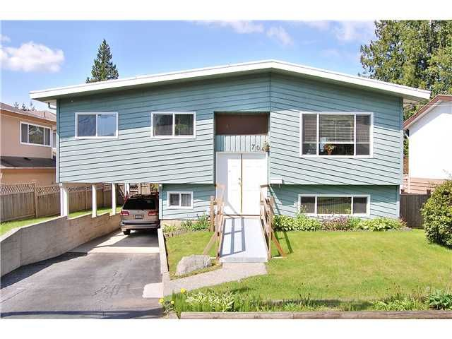 Main Photo: 704 Robinson Street in Coquitlam: Coquitlam West House for sale : MLS®# V948349