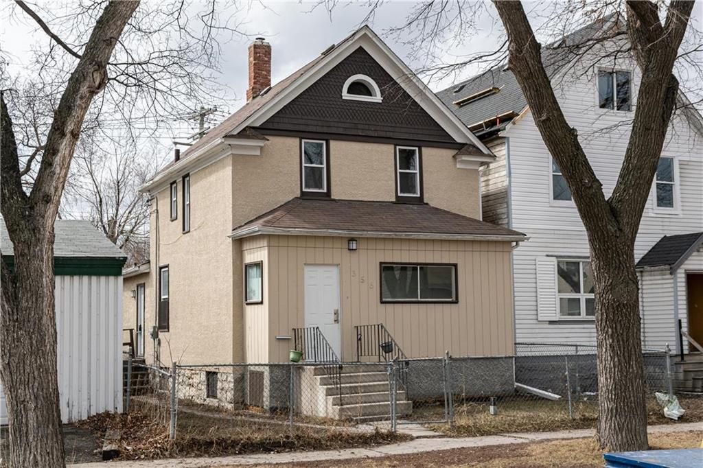 Main Photo: 356 Pritchard Avenue in Winnipeg: North End Residential for sale (4A)  : MLS®# 202106950