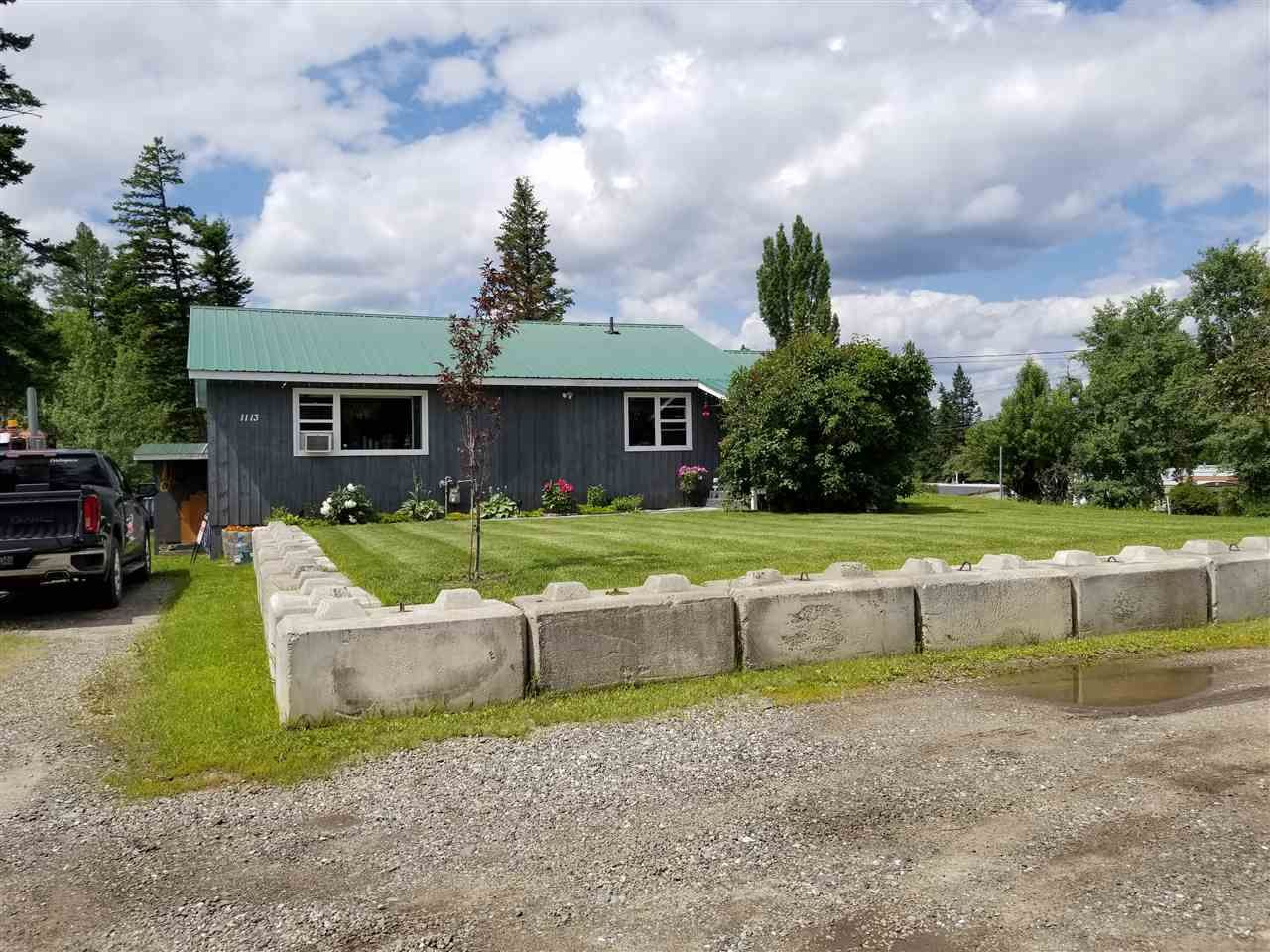 Main Photo: 1113 DOG CREEK Road in Williams Lake: Esler/Dog Creek House for sale (Williams Lake (Zone 27))  : MLS®# R2472139