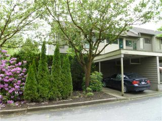 "Photo 1: 4792 CEDARGLEN Place in Burnaby: Greentree Village Townhouse for sale in ""GREENTREE VILLAGE"" (Burnaby South)  : MLS®# V833973"