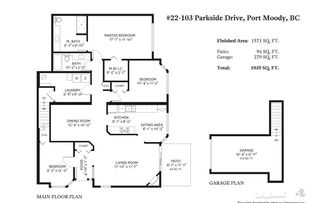 Photo 20: 22 103 PARKSIDE DRIVE in Port Moody: Heritage Mountain Townhouse for sale : MLS®# R2380672