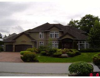 """Photo 1: 2338 137TH Street in White_Rock: Elgin Chantrell House for sale in """"CHANTRELL PARK"""" (South Surrey White Rock)  : MLS®# F2717286"""