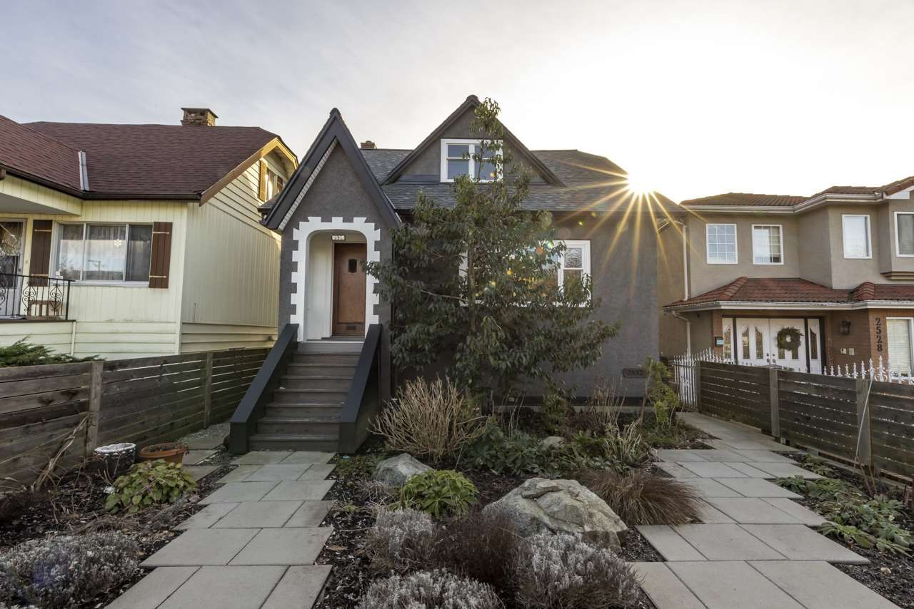 Main Photo: 2536 E PENDER STREET in Vancouver: Renfrew VE House for sale (Vancouver East)  : MLS®# R2534142