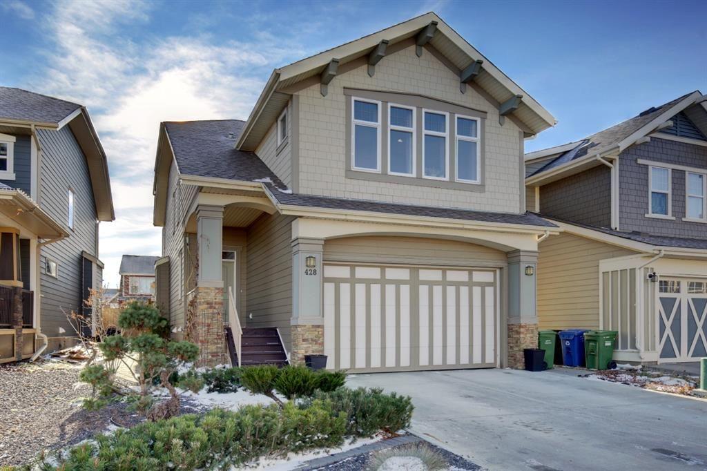 Main Photo: 428 Mahogany Boulevard SE in Calgary: Mahogany Detached for sale : MLS®# A1048380