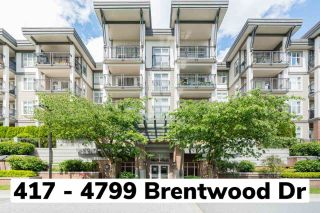 """Main Photo: 417 4799 BRENTWOOD Drive in Burnaby: Brentwood Park Condo for sale in """"Thompson House"""" (Burnaby North)  : MLS®# R2592803"""