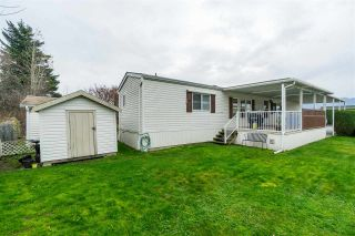 "Photo 27: 12 7610 EVANS Road in Chilliwack: Sardis West Vedder Rd Manufactured Home for sale in ""COTTONWOOD VILLAGE - GATE 4"" (Sardis)  : MLS®# R2541766"