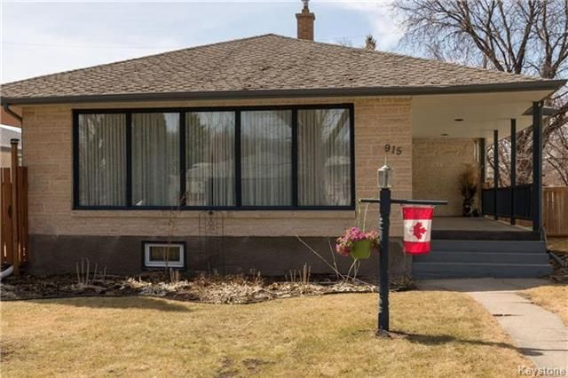 Main Photo: 915 Campbell Street in Winnipeg: River Heights South Residential for sale (1D)  : MLS®# 1809868