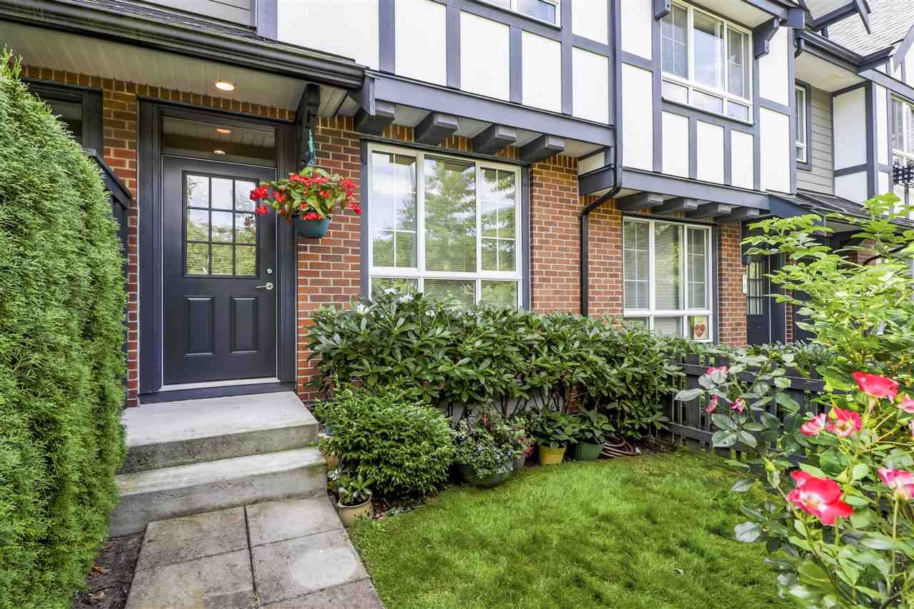 Main Photo: 7 1338 HAMES Crescent in Coquitlam: Burke Mountain Townhouse for sale : MLS®# R2485921
