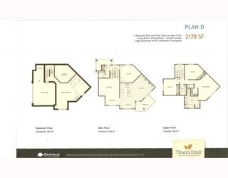 "Photo 8: 67 24185 106B Avenue in Maple Ridge: Albion Townhouse for sale in ""TRAILS EDGE"" : MLS®# V778993"
