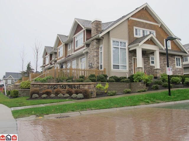 Main Photo: 25 2456 163RD STREET in : Grandview Surrey Townhouse for sale : MLS®# F1227814